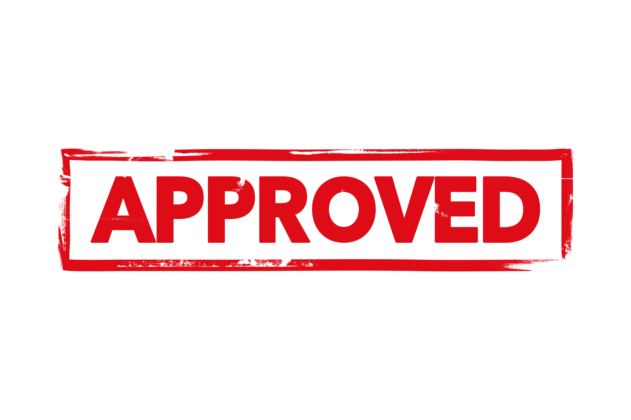 Approved stamp PSD