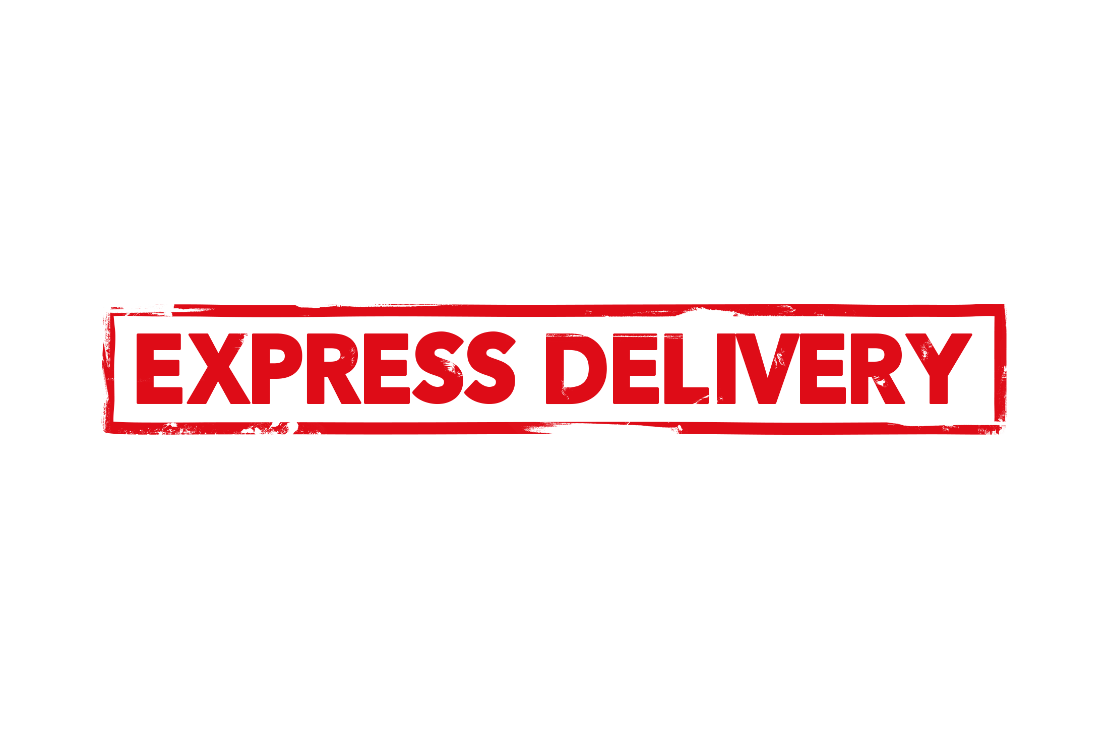 Express delivery stamp PSD