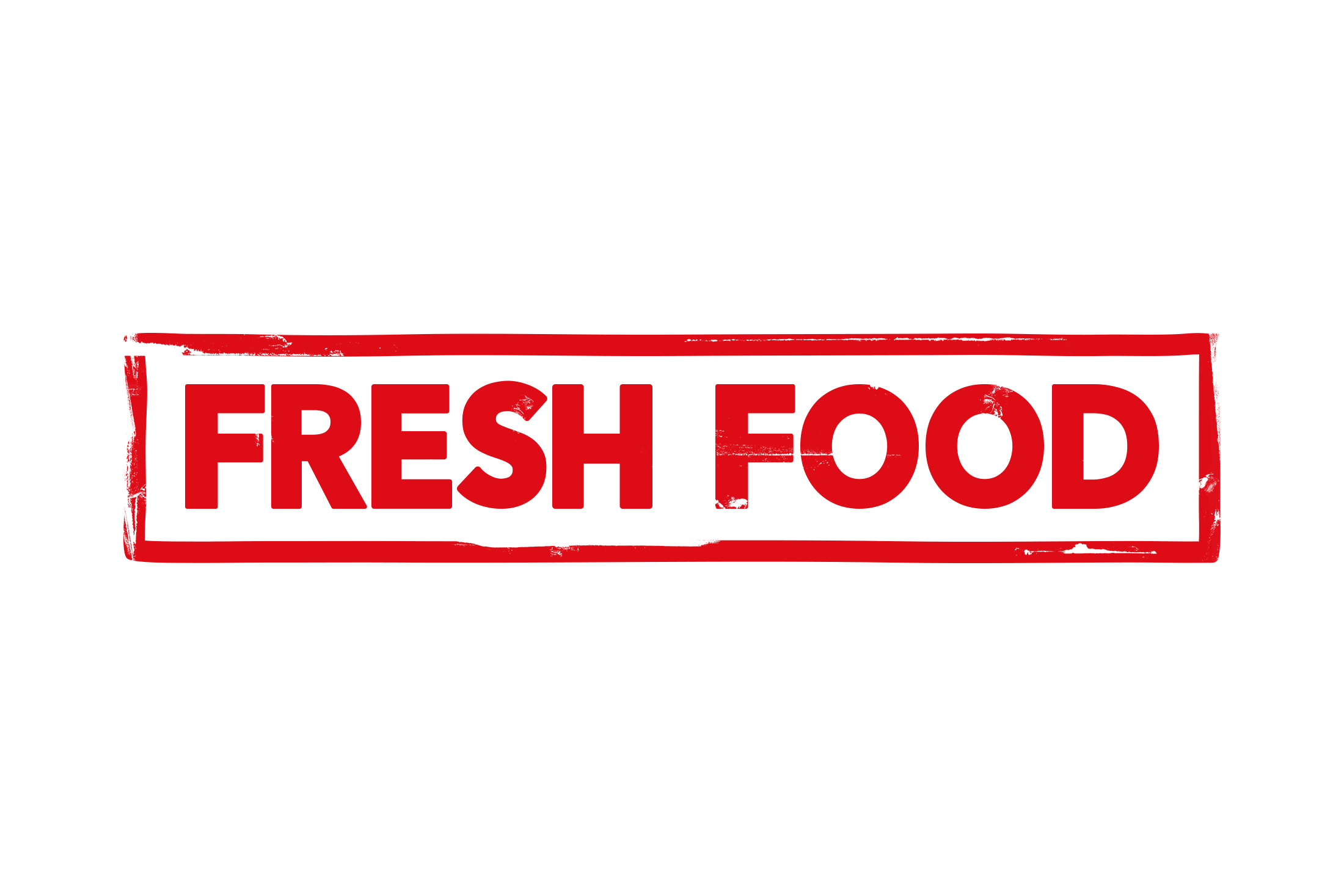 Fresh food stamp PSD