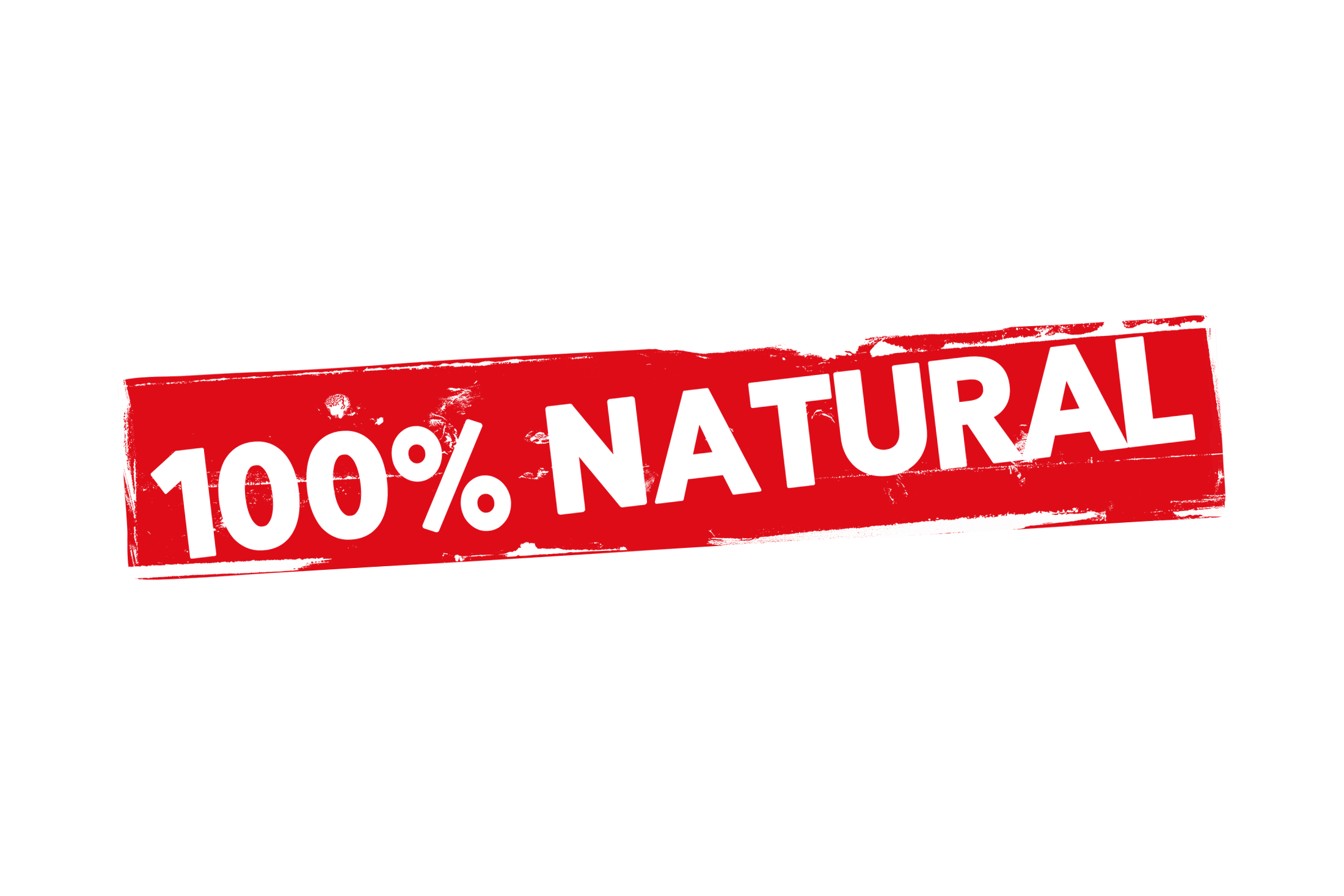 Grunge 100 percent natural label PSD