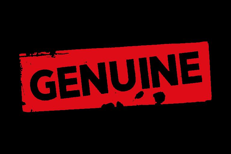 Grunge genuine label PSD