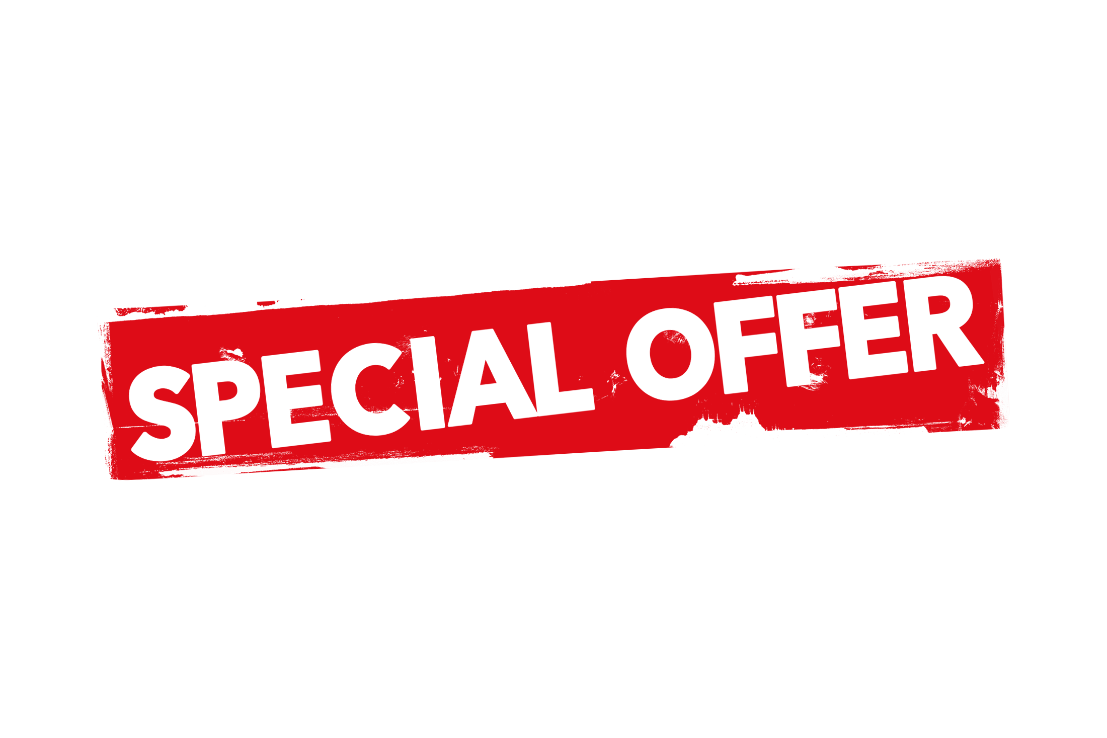 Grunge special offer label PSD