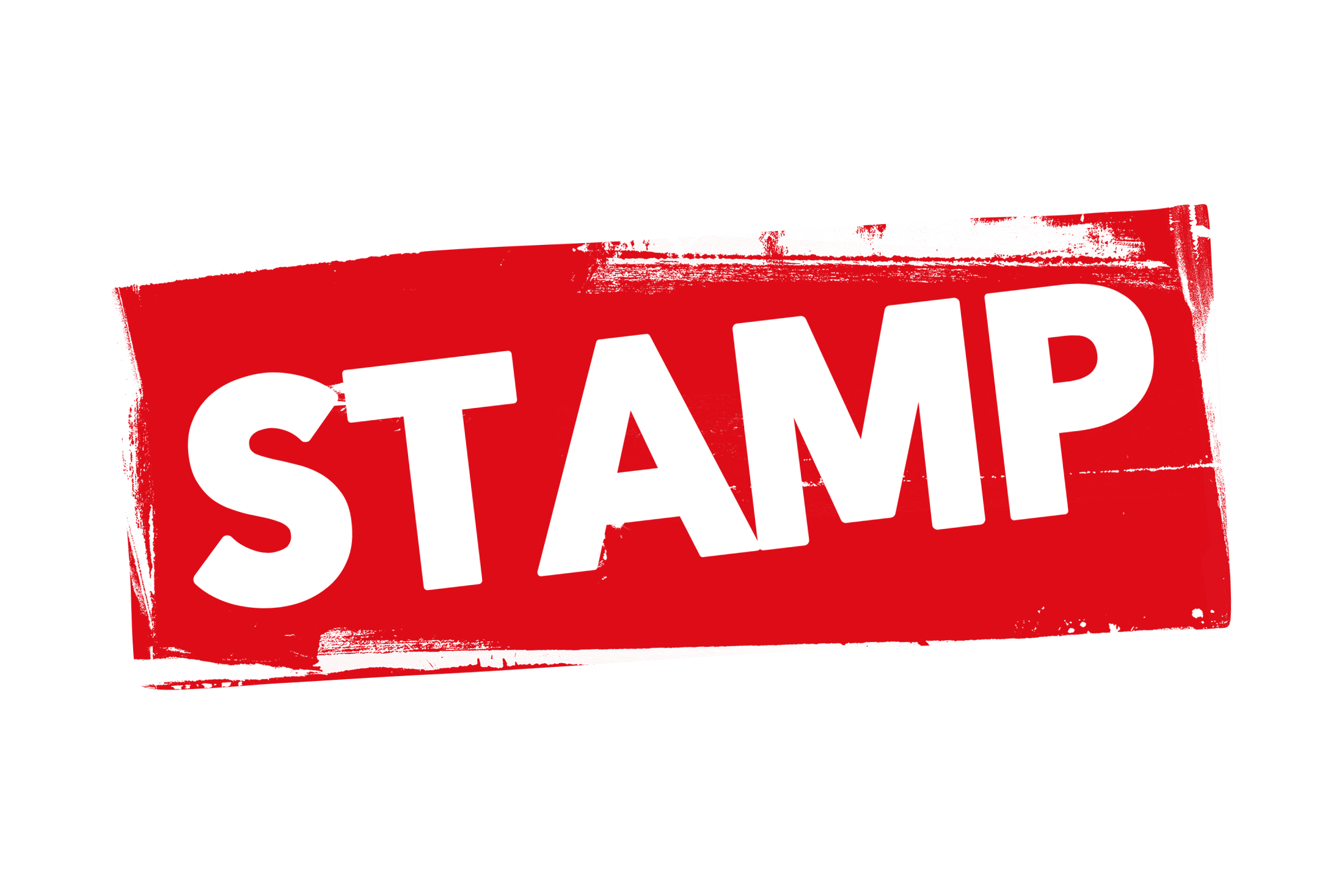 Grunge stamp label PSD
