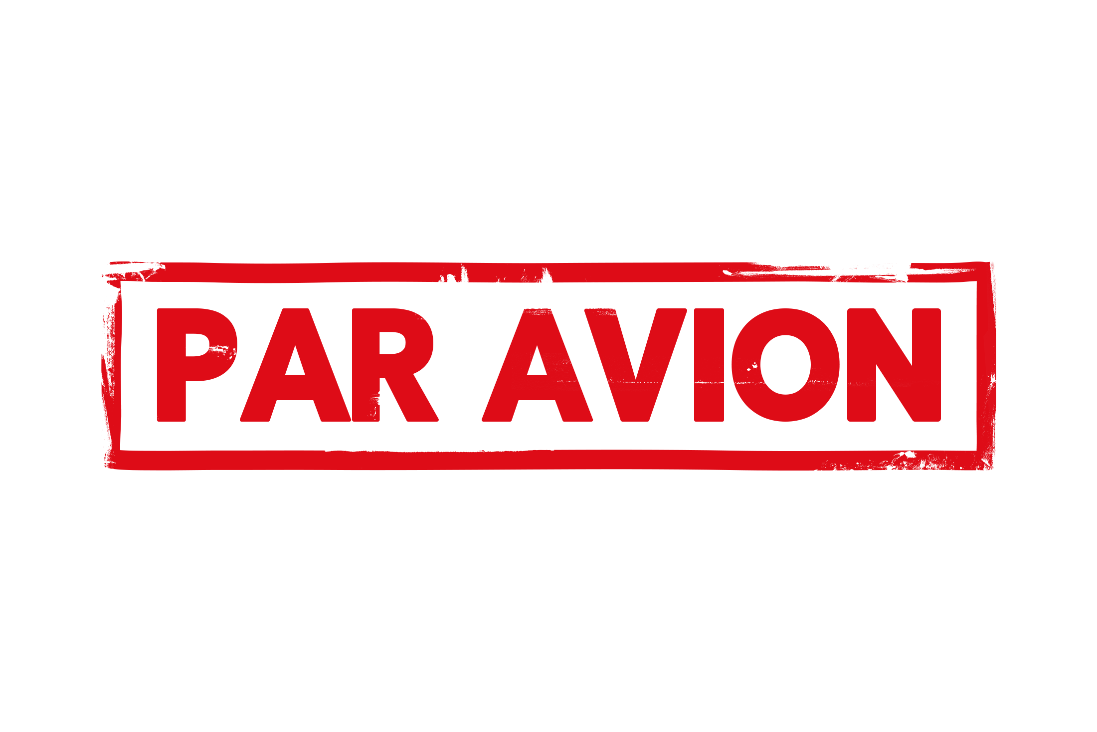 Par avion stamp PSD