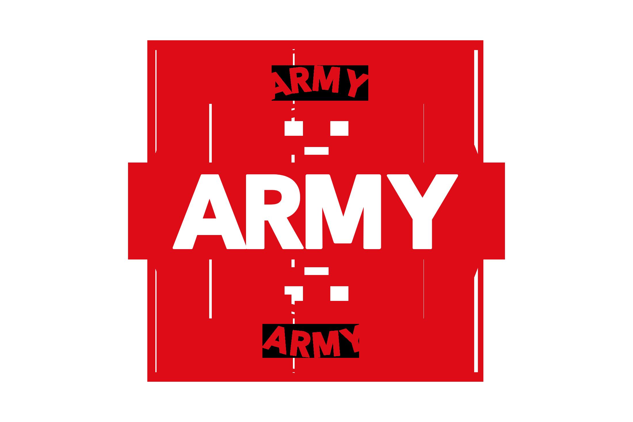 Round army stamp PSD