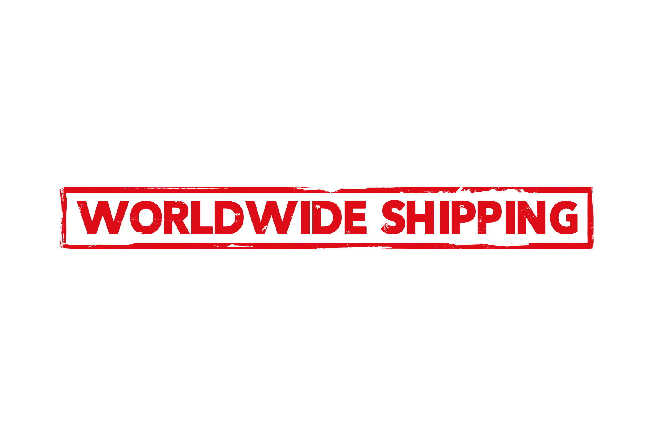 Worldwide shipping stamp PSD