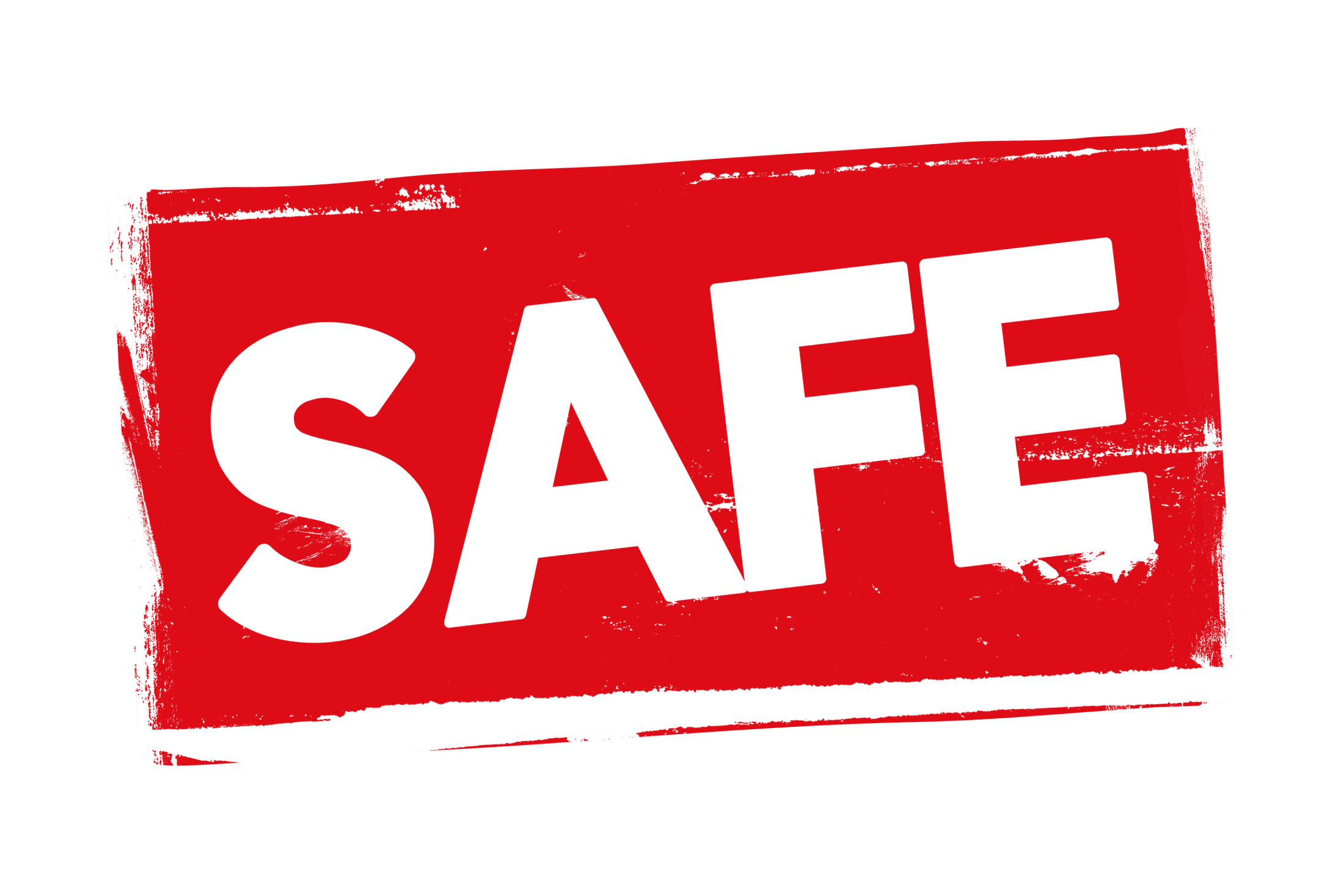 Grunge safe label PSD