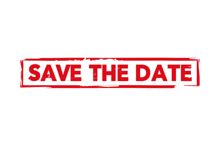 Save the date stamp PSD