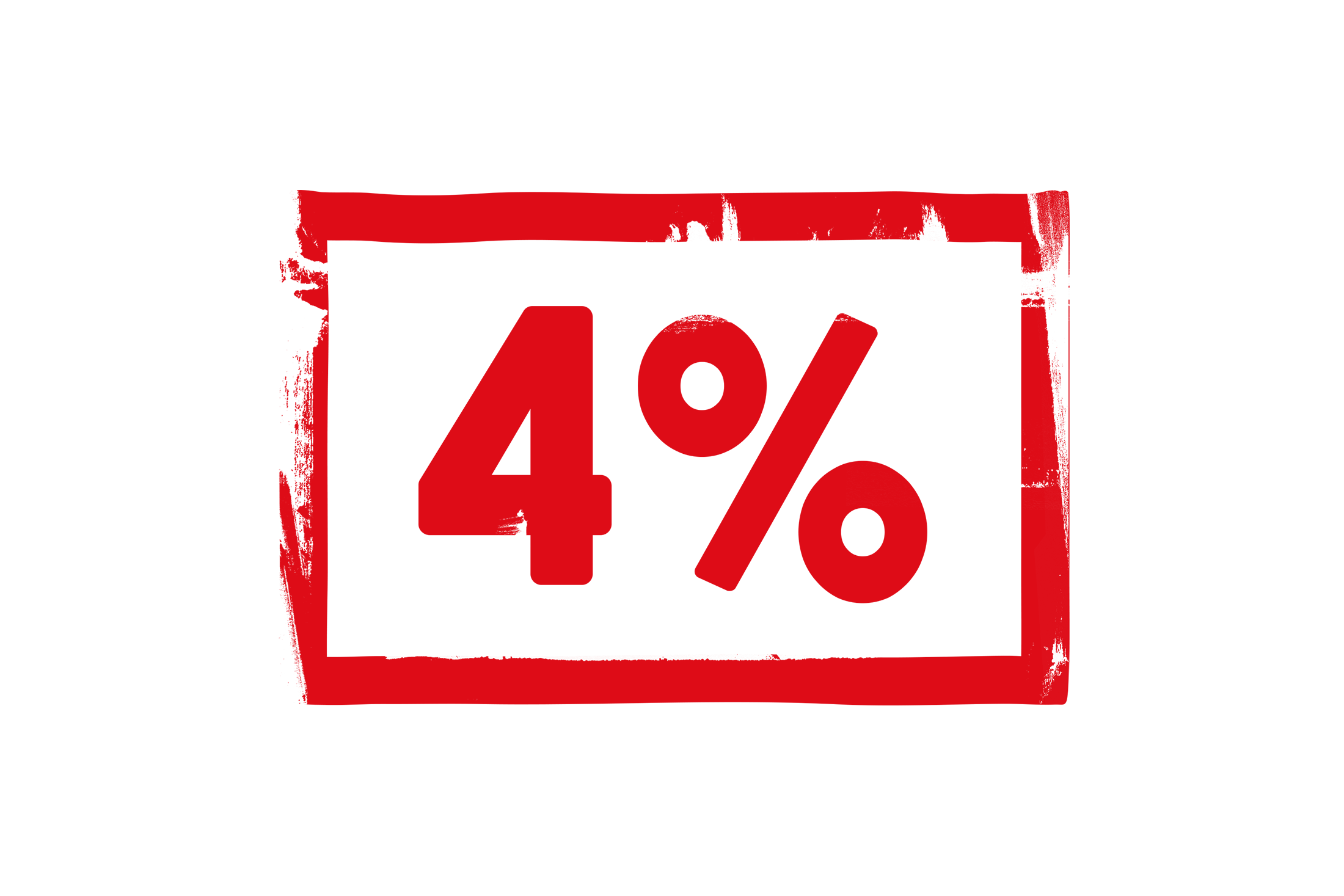 4 percent stamp PSD
