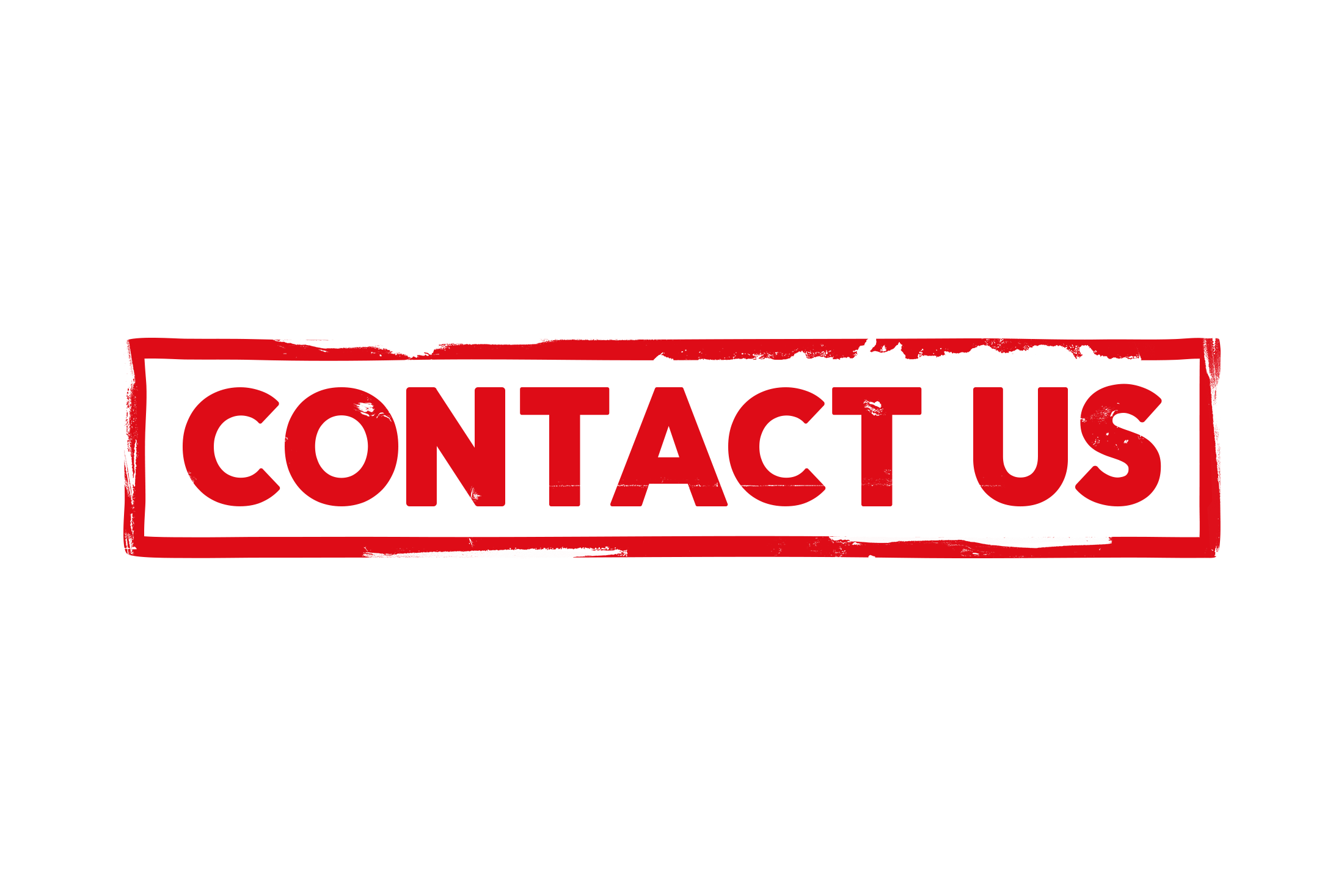 Contact us stamp PSD