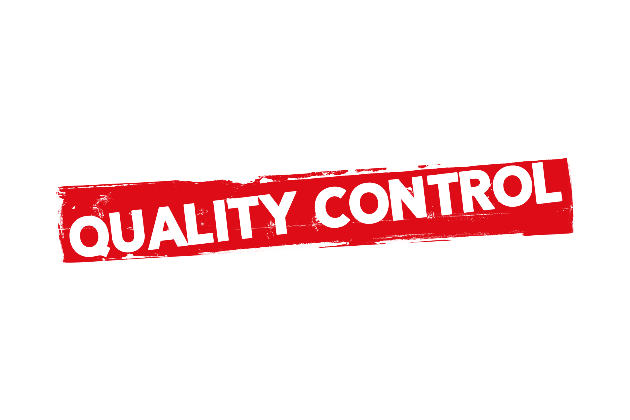 Grunge quality control label PSD