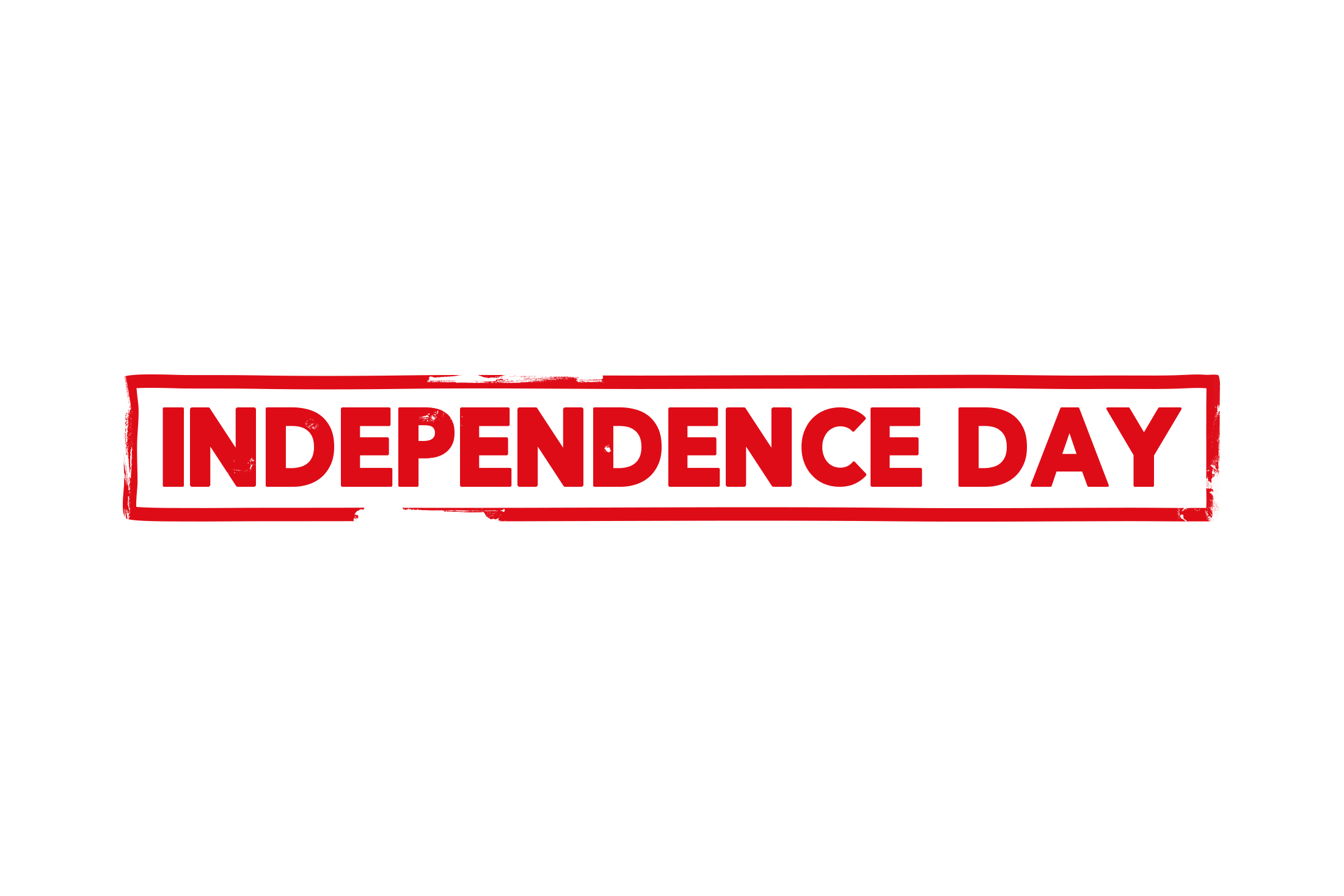 Independence day stamp PSD