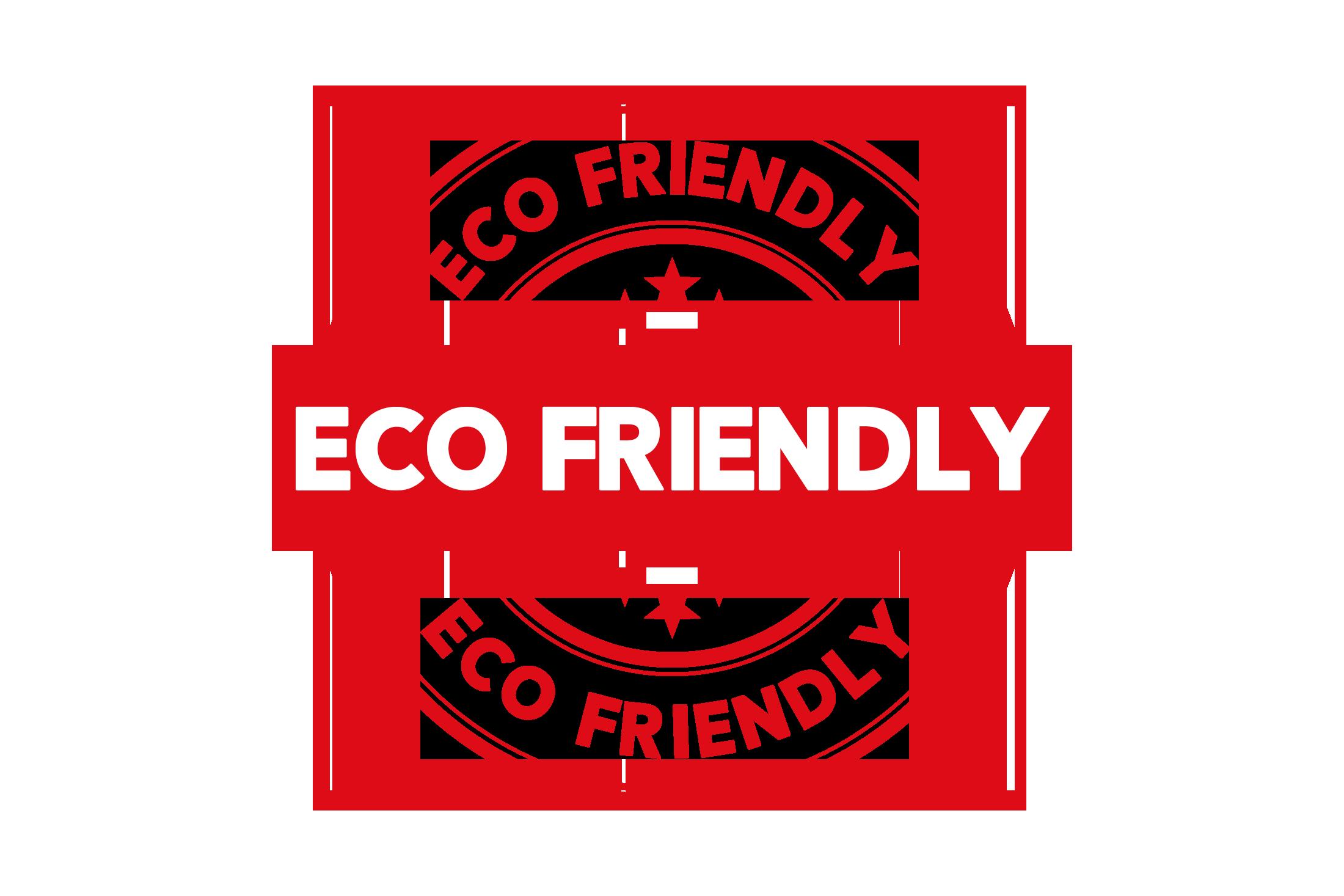 Round eco friendly stamp PSD