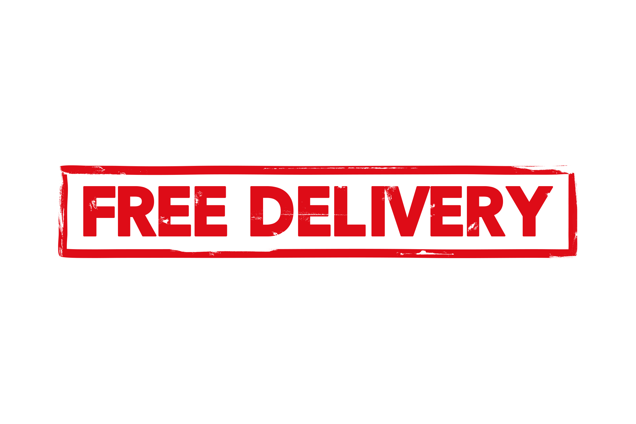Free delivery stamp PSD