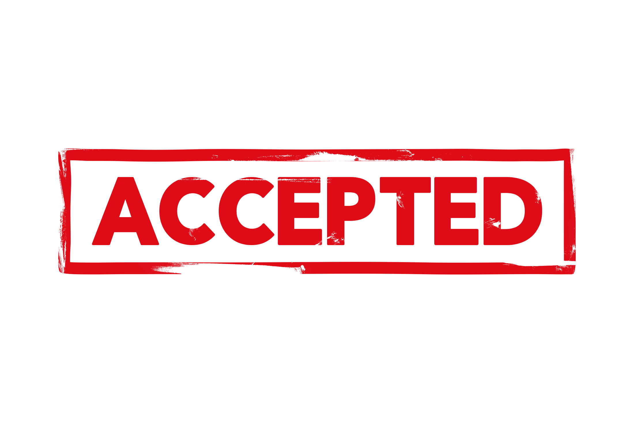 Accepted stamp PSD