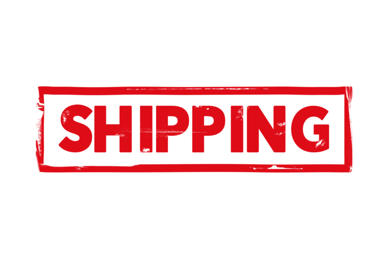 Shipping stamp PSD